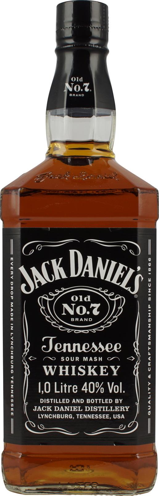 Jack Whiskey Daniels 0l 40 1 No7 Tennessee K13cJTFul