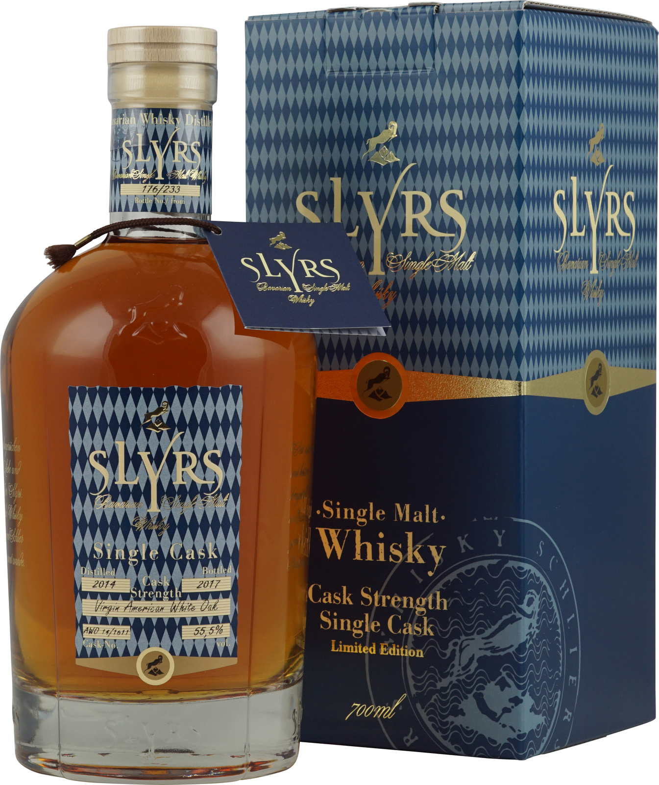 Slyrs bavarian single malt fassstärke